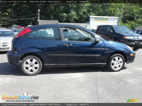 2002 Ford Focus Zx3 by 2002 Ford Focus Zx3 Coupe Twilight Blue Metallic