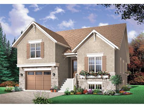split level house with front porch saddlepost split level home plan 032d 0673 house plans
