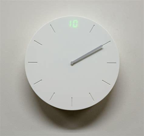 clock design digital analog clock design meets you halfway