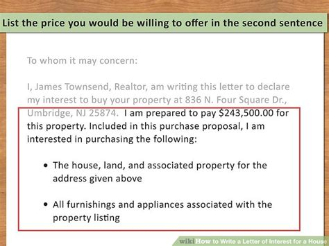 how to rent to buy a house 3 ways to write a letter of interest for a house wikihow