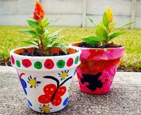 Decorating Ideas Your Clay Pots 161 Huertas Para Ni 241 Os Espacio Sustentable