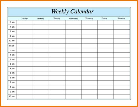 weekly calendar hours 2016 uk format calendar template 2016