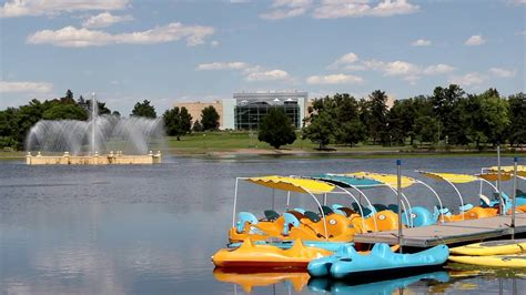 paddle boats denver paddle boats in city park denver co youtube