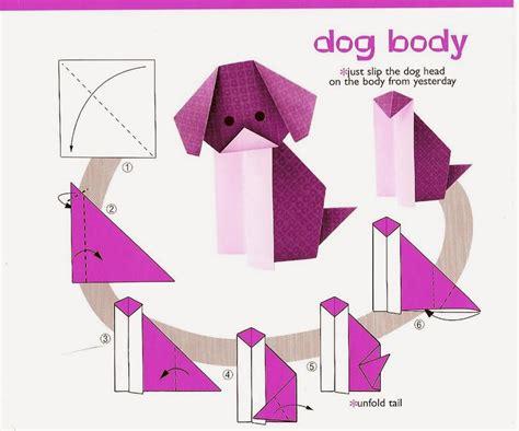 tutorial origami dog dog origami instructions for kids origami tutorial