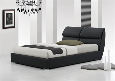 einzelbett modern libretto 4ft6 5ft king size modern leather bed