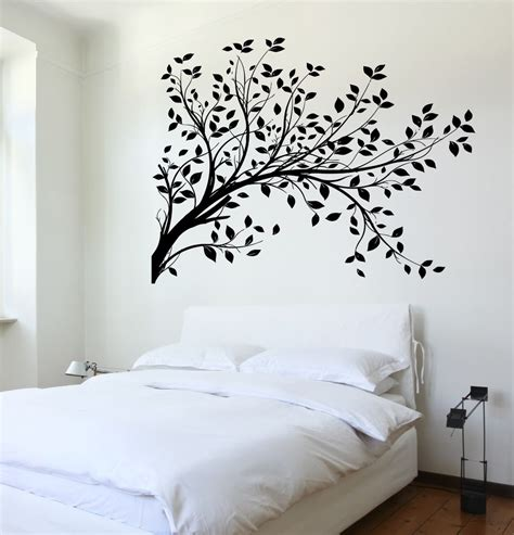 tree wall stickers for bedrooms wall decal tree branch cool art for bedroom vinyl sticker