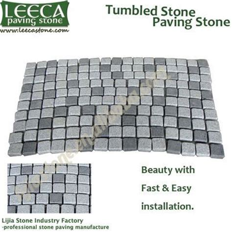 cheap driveway paving stone cobblestone mat paving leeca the professional natural stone