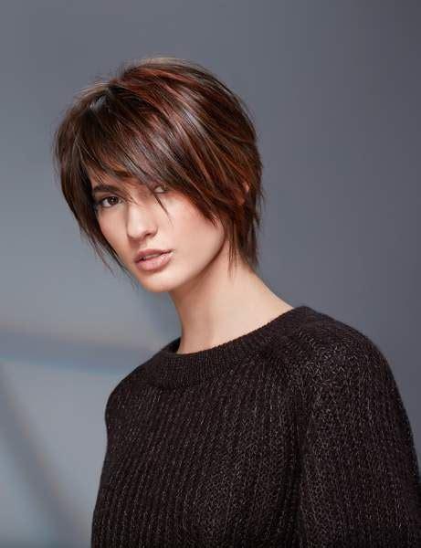 coupe cheveux actuelle coupe de cheveux les tendances de l automne hiver 2017