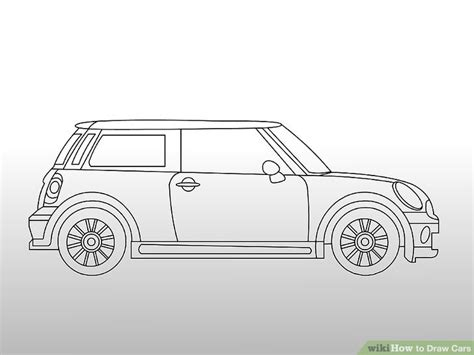 Auto Zeichnung by 4 Easy Ways To Draw Cars With Pictures Wikihow