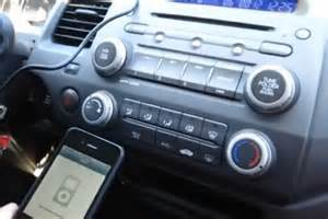 bluetooth and iphone ipod aux kits for honda civic 2006
