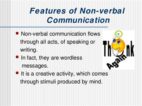 non verbal verbal communication
