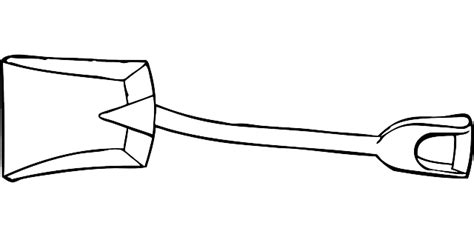 garden shovel coloring page free pictures shovel 52 images found