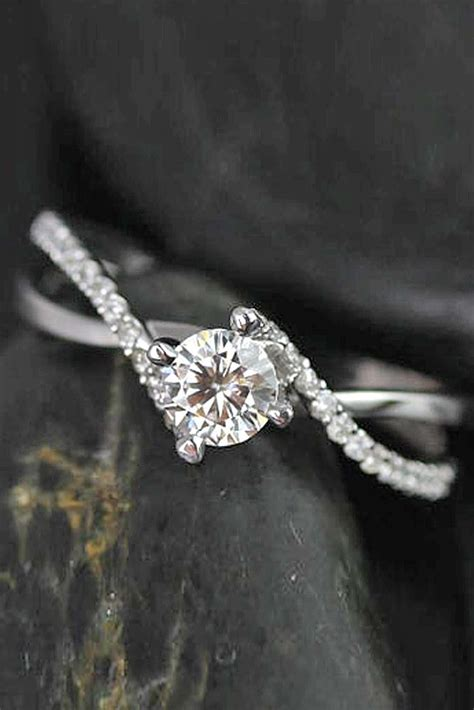 best 25 twist engagement rings ideas on