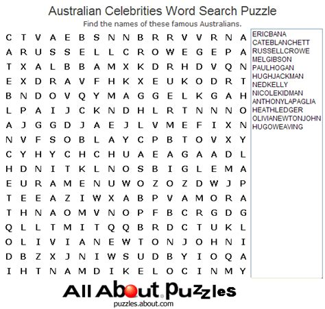 printable word search celebrities word search games that you can print