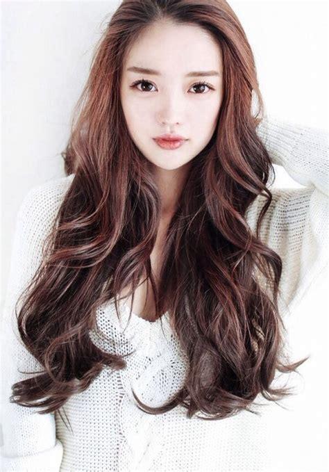 haircuts for long hair korean long hairstyle korean regarding inviting female hairstyle
