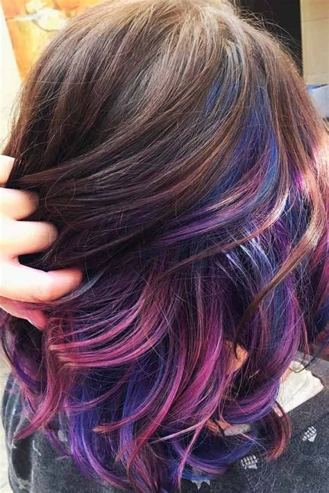 Purple Craze Fall 2007 Trend by The 25 Best Hair Color Ideas For Brunettes Ideas On