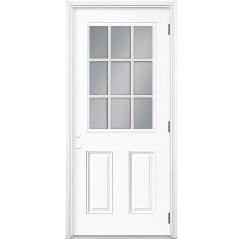 lowes mobile home interior doors home design and style shop screen tight white vinyl screen door common 36 in x