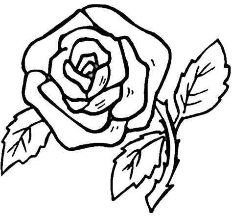 coloring pages of red roses printable coloring pages roses coloring home