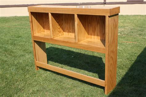 woodwork  bookcase headboard plans  plans
