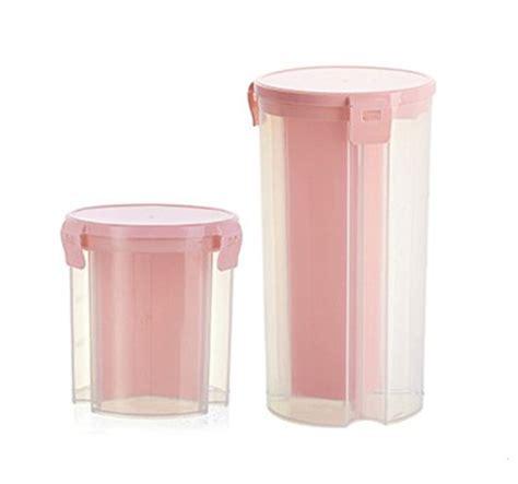 Boxku Vacuum Sealed Food Box Pink Set food storage set shopswell