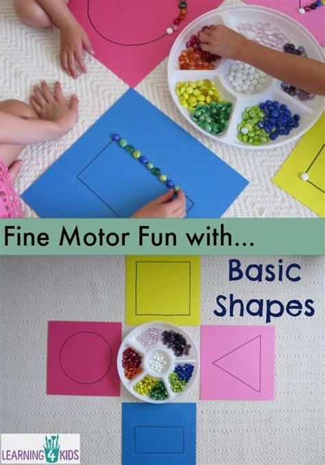 Halloween Paper Bag Crafts - basic shapes work station or centre activity learning 4 kids