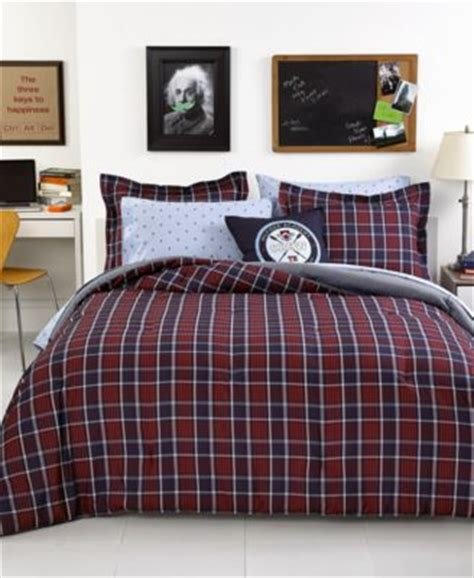 Hilfiger Plaid Comforter by Product Not Available Macy S