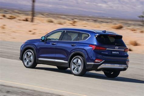 2019 Hyundai Santa by 2019 Hyundai Santa Fe Showcases Its Bold Design At New