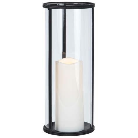 windlicht kerze glas windlicht 32x13cm laterne xl mit led kerze timer