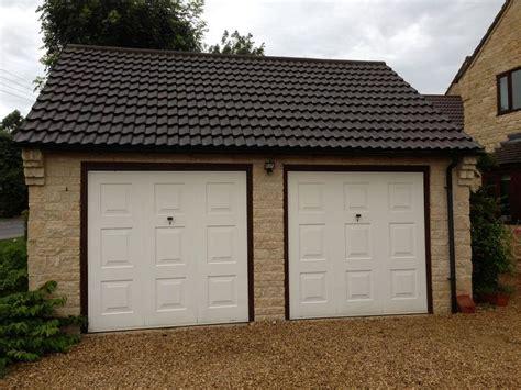 two door garage double garage conversions lgds