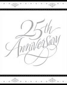 25th wedding anniversary invitations packs of 8 5423 p