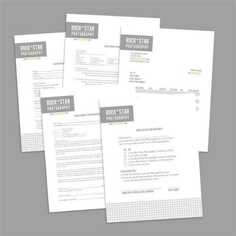 photography business forms templates 1000 ideas about photography contract on wedding photography contract photography