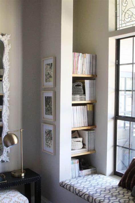 diy nook book shelves and benchtop book shelves nook