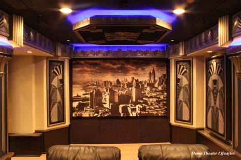 home theater design new york art deco home theater contemporary home cinema new