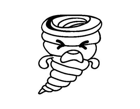 imagenes de kawaii para imprimir dibujo de tornado kawaii para colorear dibujos net