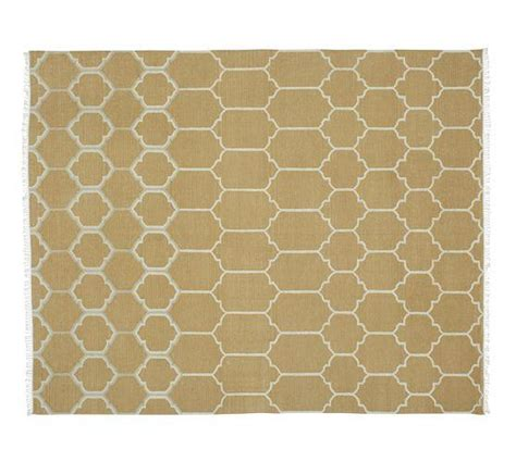 Potterybarn Rugs by Quincy Kilim Rug Wheat Pottery Barn