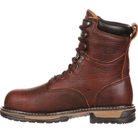 best comfortable work boots for men rocky ironclad comfortable waterproof work boot fq0005693