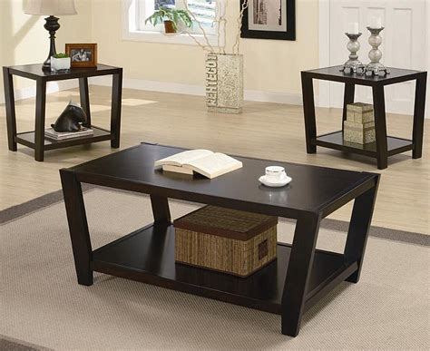 3 Set Coffee Tables 3 Occasional Table Set Coffee Table Sets
