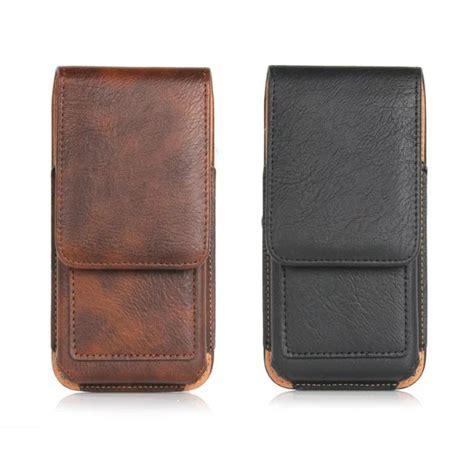 New Belt Clip Holster Leather Skin Cover Pou Limited new top grade universal belt slot holster skin waist