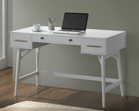 coaster furniture writing desk coaster 800745 writing desk white bronze 800745 at