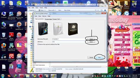 gambar format ota tutorial cara format window7 guna usb death note