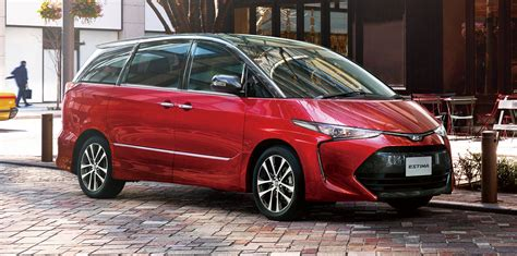Toyota Tarago 2017 Toyota Tarago Facelift Due In The Coming Months