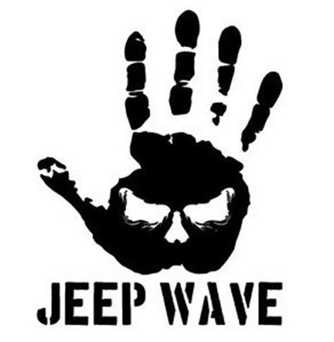 jeep wave sticker jeep decal wrangler jeep wave fender window door