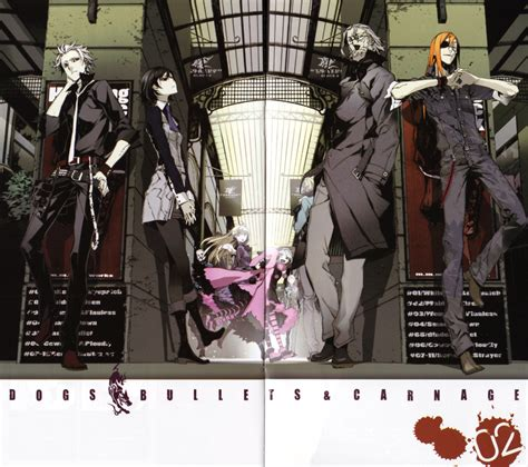 dogs bullets and carnage dogs bullets carnage miwa shirow zerochan anime image board