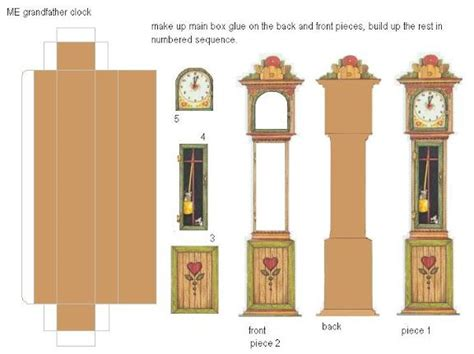 cardboard dollhouse furniture templates woodworking