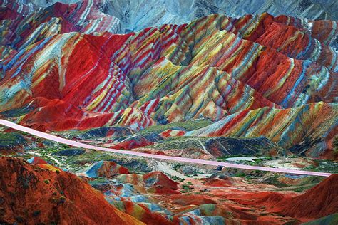 colors of the mountain the most beautiful rainbow mountains in china