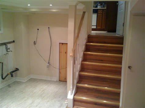 basement stairs finishing basement stairs modernize