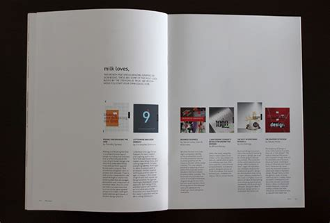 layout magazine behance milk graphic design magazine on behance