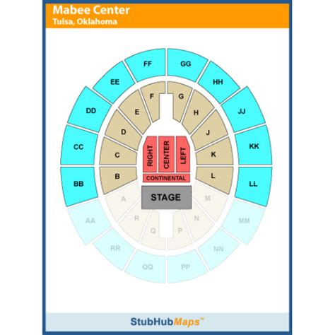 mabee center seating oru mabee center events and concerts in tulsa oru mabee