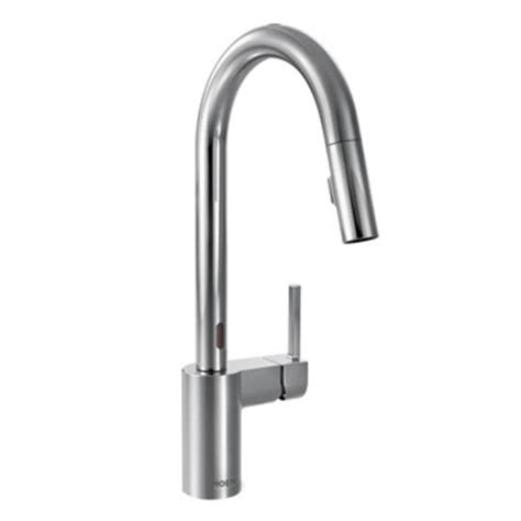 moen 7185eorb brantford with motionsense one handle high moen motionsense faucets at faucetdepot com