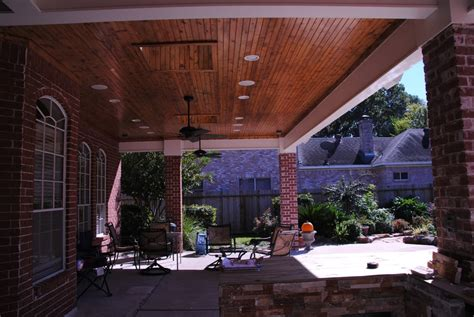 Recessed Patio Lights Roofed Patio Cover With Recessed Can Lights 2 Skylights And 2 Ceiling Fans Yelp